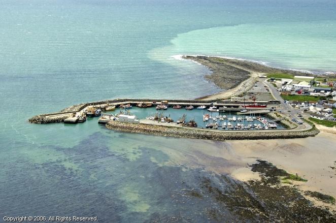 Kilmore Quay Aerial Shot