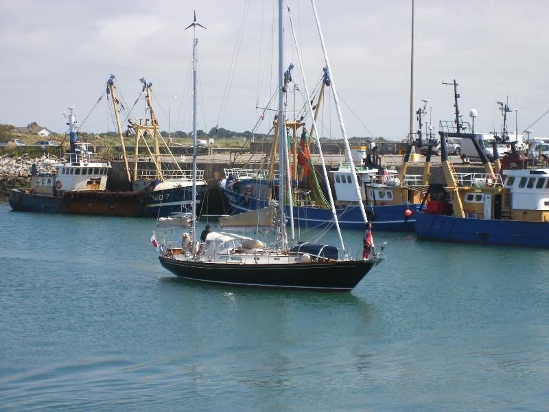 Kilmore Quay's First Japanese vessel